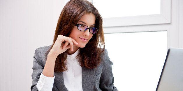 beautiful business woman...