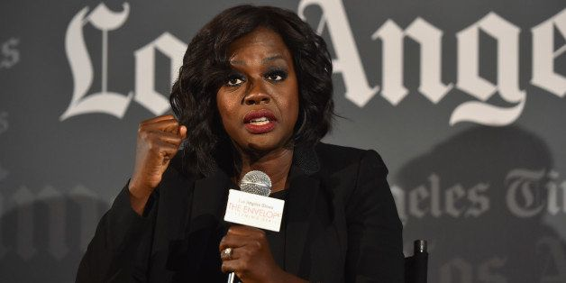 SHERMAN OAKS, CA - MAY 26:  Actress Viola Davis attends The L.A. Times' Envelope screening of 'How To Get Away With Murder' a