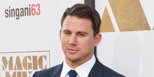 """Channing Tatum arrives at the Los Angeles premiere of """"Magic Mike XXL"""" at the TCL Chinese Theatre on Thursday, June 25, 2015."""