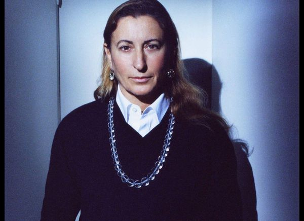 Muccia Prada is a fashion powerhouse that continues to unveil her vision of what a woman can be. Her farsighted creativity ex
