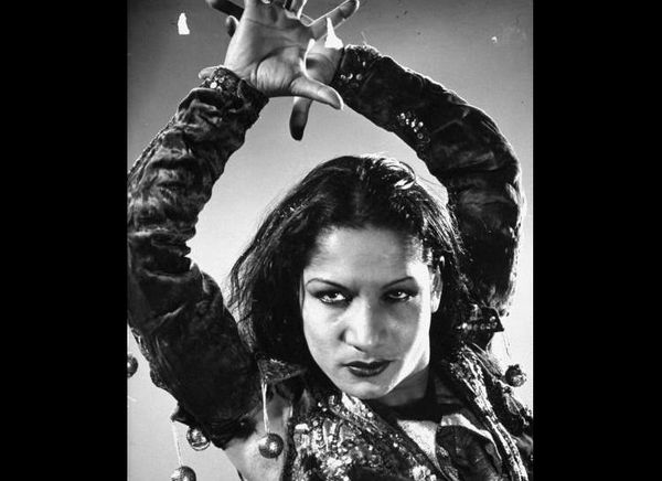 "Carmen Amaya ""The Queen of the Gypsies"" is known as one of the greatest dancers of all time, and the mother of modern Flamenc"