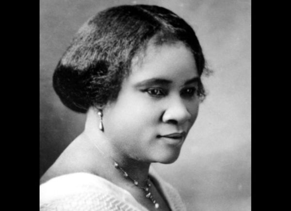 The daughter of former slaves, she went on to become the first female millionaire in U.S. history. Breaking the cycle of pove