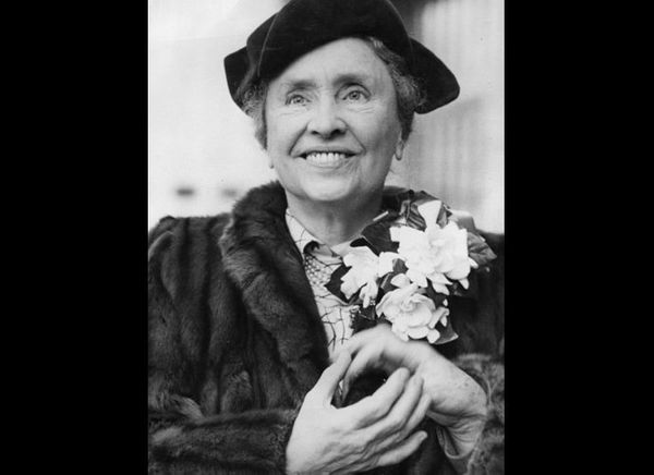 Although left deaf and blind through a childhood illness, Helen Keller rose above her circumstances to become a US Goodwill A
