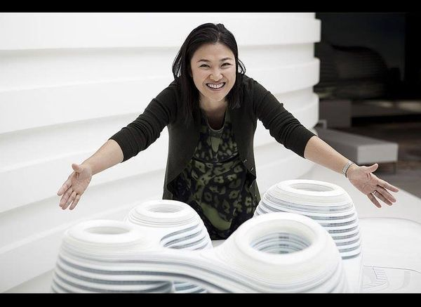Once homeless, Zhang Xin is now the 7th richest self-made woman in the world. Her real estate company, SOHO China, has litera