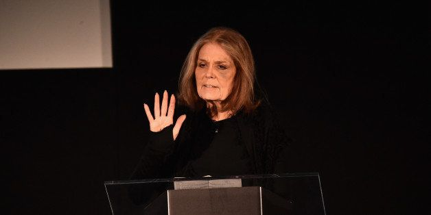 RANCHO PALOS VERDES, CA - FEBRUARY 02:  Author/activist Gloria Steinem speaks at the AOL 2016 MAKERS conference at Terranea R