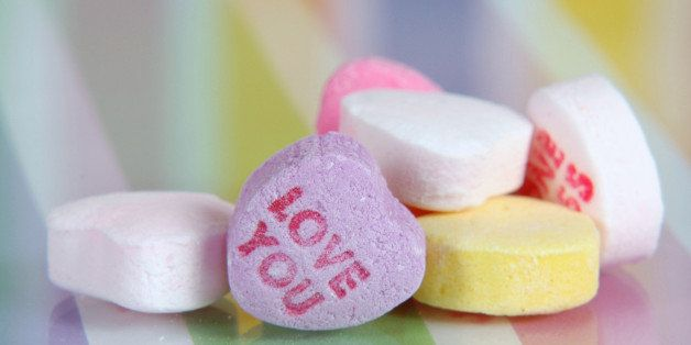 Valentine's Day Sweetheart Candy