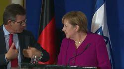 Chaos bei Merkel-PK in Israel: Dolmetscherin flucht, Kanzlerin völlig