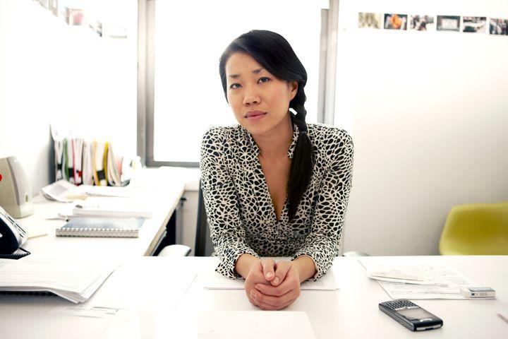 Office portrait of a woman