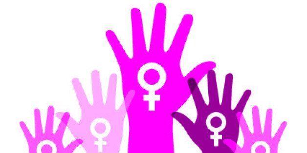 Gender design over white background, vector illustration