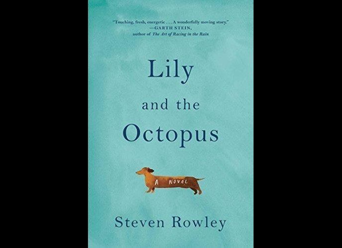 """""""In his funny, ardent, and staunchly kooky way, Rowley expresses exactly what it's like to love a dog."""" A lonely writer and"""