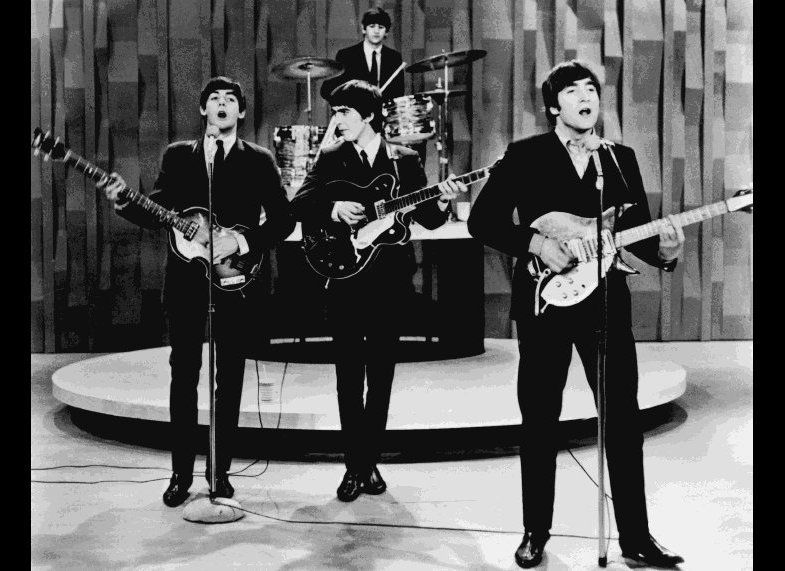 At the time of the Beatles' first appearance on The Ed Sullivan Show on February 4th, 1964, aside from the Kingsmen, there we