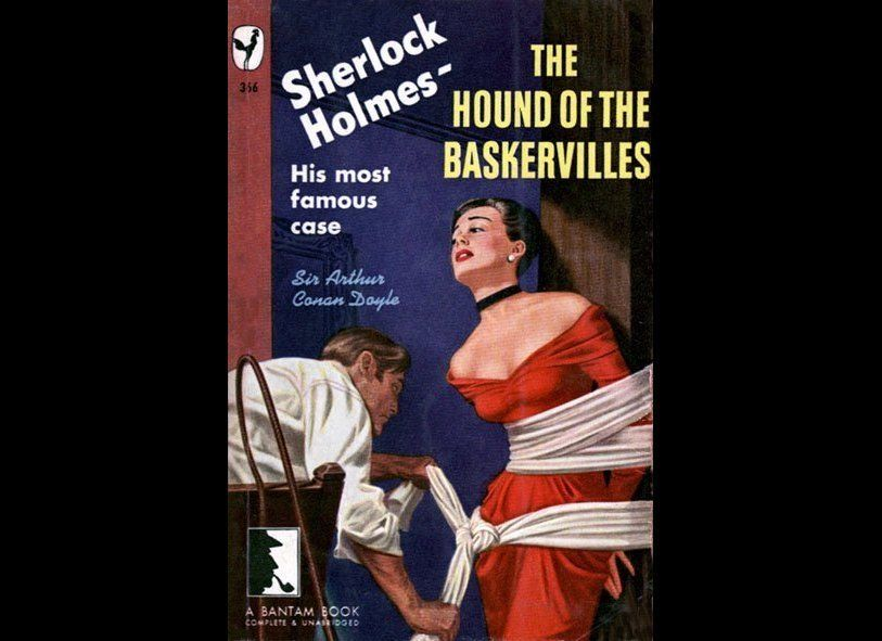 We don't remember Sherlock's adventures being quite so erotically charged.