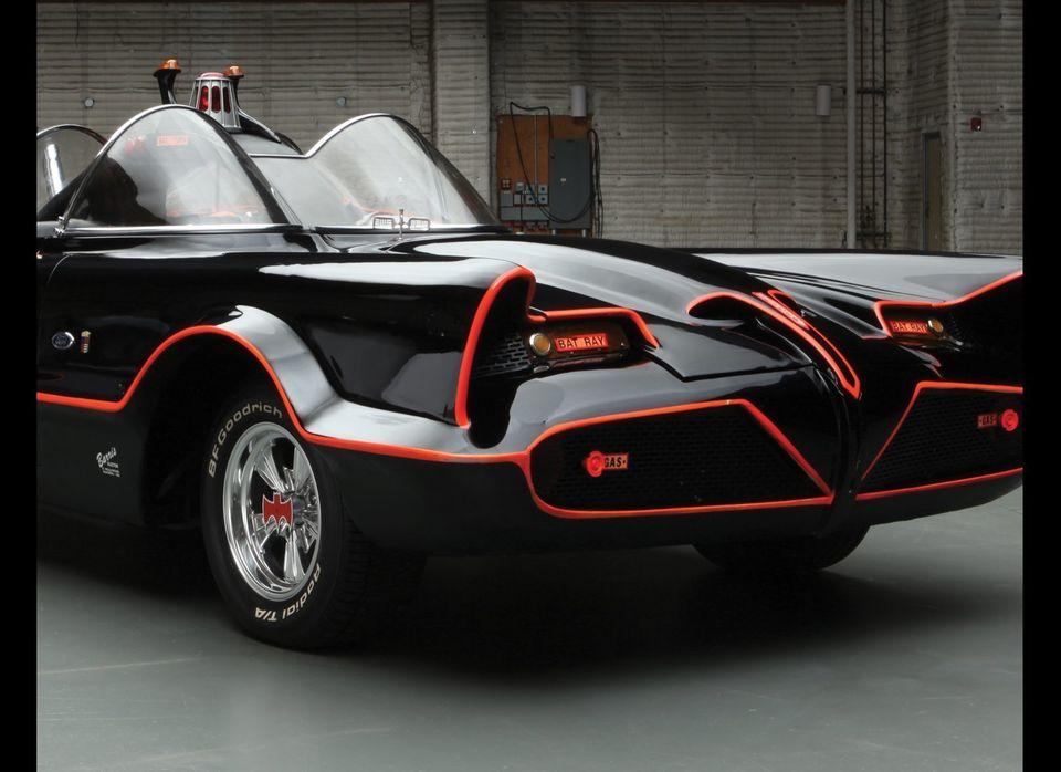 The eye-catching, TV-ready Batmobile of 1966.