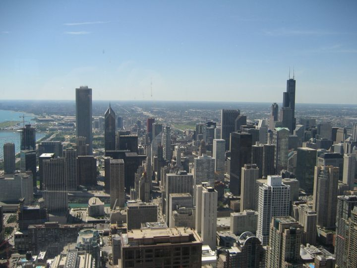 Downtown Chicago. Category:Views from John Hancock Center.