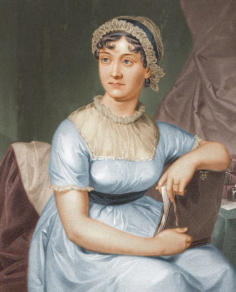 """Considered by many as the mother of """"chick lit,"""" English novelist Jane Austen was engaged once for a few hours before breakin"""