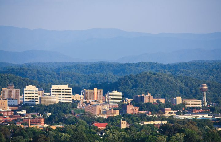 knoxville skyline.
