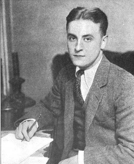 "Description 1 Photograph of F. Scott Fitzgerald c.  1921, appearing ""The World's Work"" (June 1921 issue) 