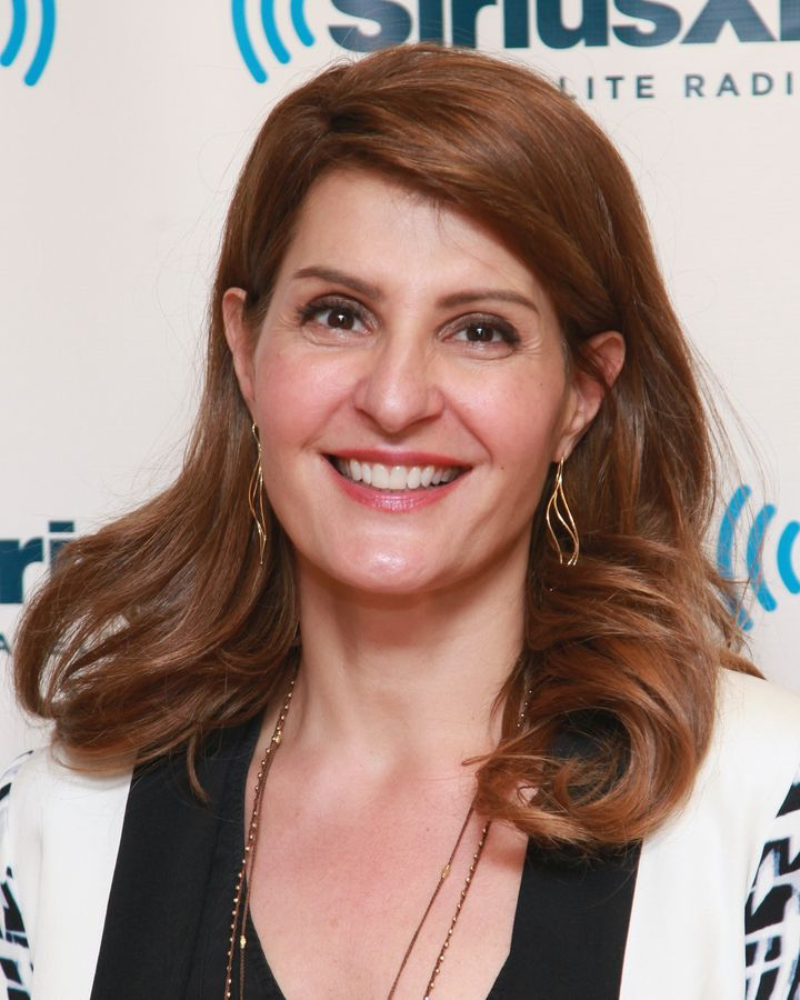 NEW YORK, NY - APRIL 02: Actress Nia Vardalos visits the SiriusXM Studios on April 2, 2013 in New York City. (Photo by Taylor Hill/Getty Images)