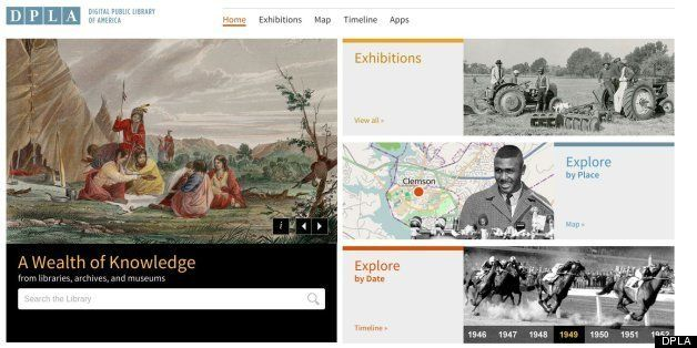 Digital Public Library Of America (DPLA) Launches To Public | HuffPost
