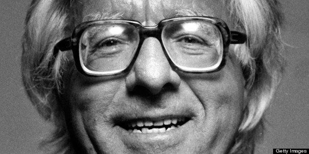 Author Ray Bradbury attends Nineth Annual Hemingway Contest on March 10, 1986 at Harry's Bar and Grill in Century City, Calif
