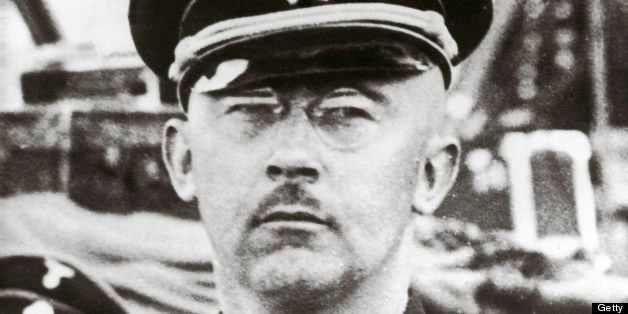 GERMANY - JANUARY 01:  Reichsfuehrer ss Heinrich Himmler, wearing the black uniiform of the ss.Photography. Around 1935.  (Ph