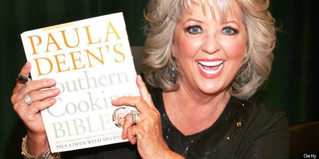 GLENDALE, CA - OCTOBER 24:  TV personality Paula Deen signs copies of her new book 'Paula Deen's Southern Cooking Bible' at B