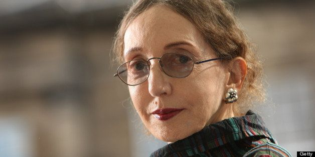 EDINBURGH, SCOTLAND - AUGUST 20:  Joyce Carol Oates, acclaimed US Novelist, appears at a photocall prior to participating in