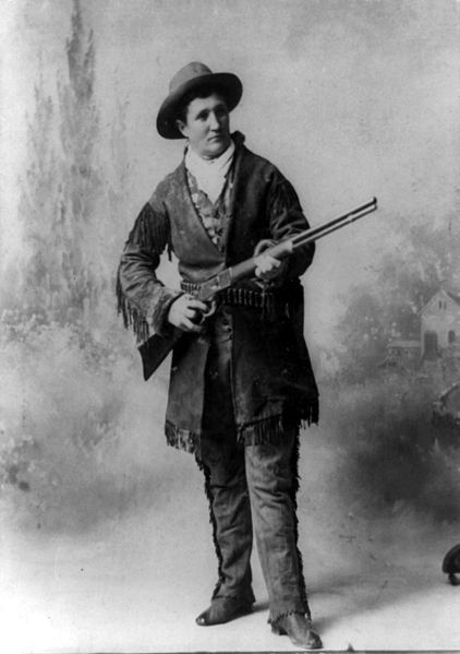 Martha Canary or Canary, the woman most often cited as Calamity Jane. In one story of her birth she was the daughter of an ar