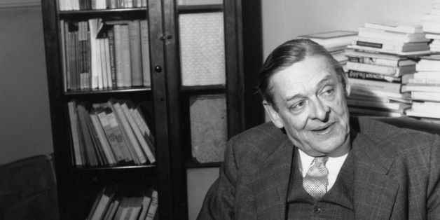 30th August 1957:  American-English poet and playwright TS Eliot (1888 - 1965).  (Photo by Express/Express/Getty Images)