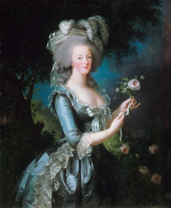 The queens of France were always of foreign birth for political reasons, but Marie Antoinette was a princess from Austria, Fr