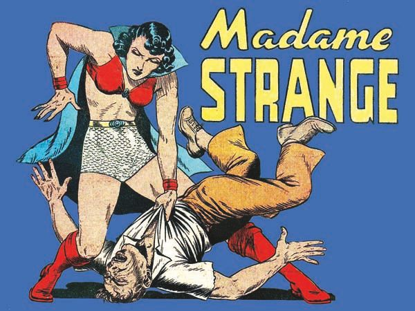 "When Madame Strange was described as ""mysterious, beautiful and cloaked with an unknown identity,"" they weren't joking. All r"