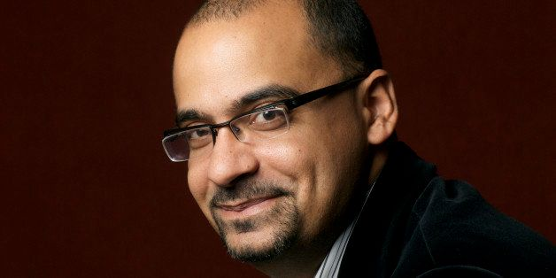 PARIS, FRANCE - FEBRUARY 3:  American writer Junot Diaz poses for a portrait February 3, 2009 in Paris, France to promote his