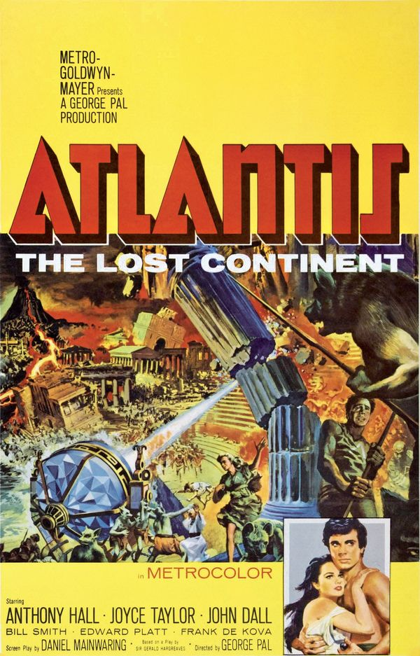 Poster for the film, <em>Atlantis, the Lost Continent </em>(1961)