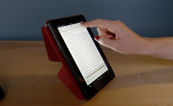 <font> A full Kindle weighs a billionth of a billionth of a gram more than a brand-new one.</font>