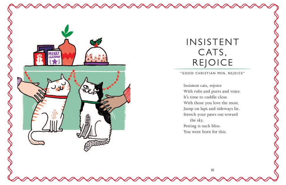 Lied Oh Tannenbaum Text.Adorable Cats Singing Christmas Carols Huffpost