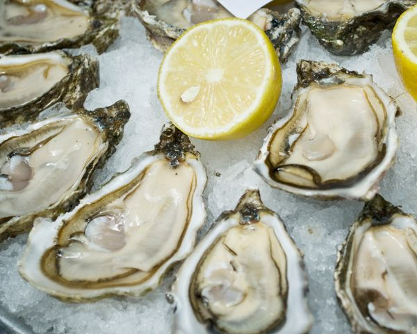 Oysters, the superior aphrodisiac, contain high levels of omega 3 fats, which improve circulation, and support healthy blood