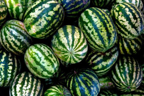 Watermelon contains the antioxidant citrulline, which increases the amount of nitric oxide in the blood. Nitric oxide is the