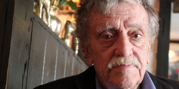 NEW YORK - MARCH 24:  Writer Kurt Vonnegut poses for a portrait on March 24, 2006 in New York City.  (Photo by Jean-Christian