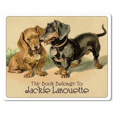 "Awww. <a href=""https://www.etsy.com/listing/60673209/vintage-dachshunds-in-love-personalized?ref=sr_gallery_36&ga_search_quer"