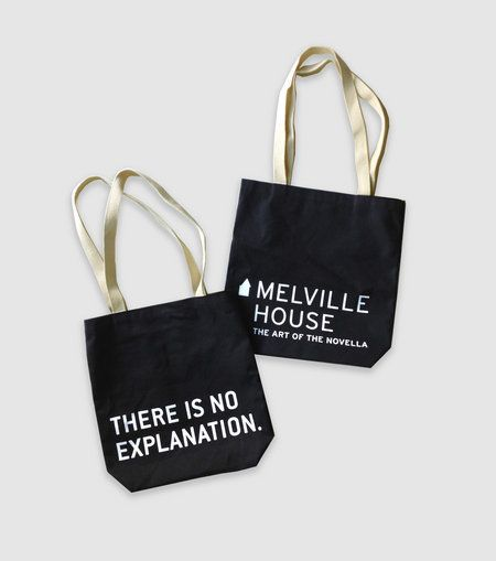 "Melville House made waves in the tote world with their ""I would prefer not to"" bag. Their latest only reinforces the fact tha"