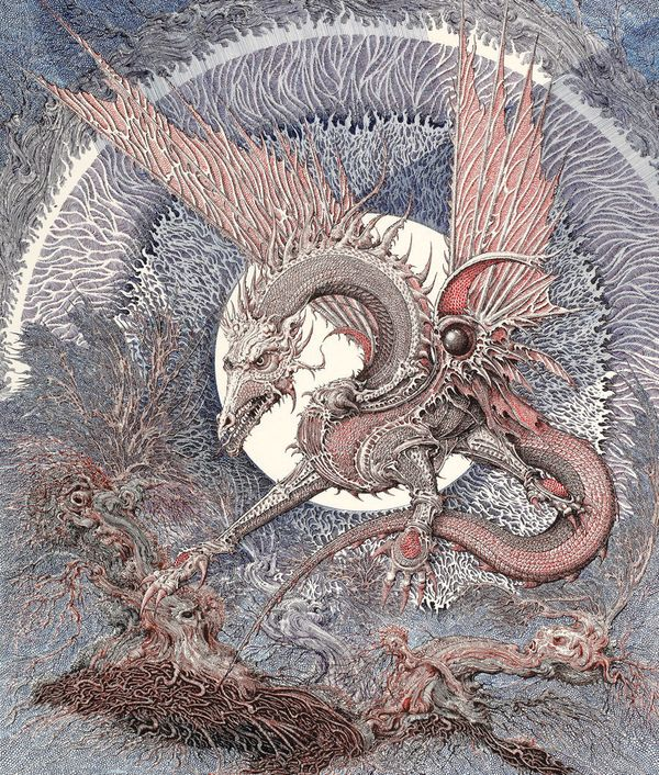 This dragon appeared recently in a book called <em>There and Back Again</em> about the origins of <em>The Hobbit</em> by Mark