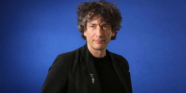 EDINBURGH, SCOTLAND - AUGUST 24:  Neil Gaiman, English author of short fiction, novels, comic books, graphic novels, audio th