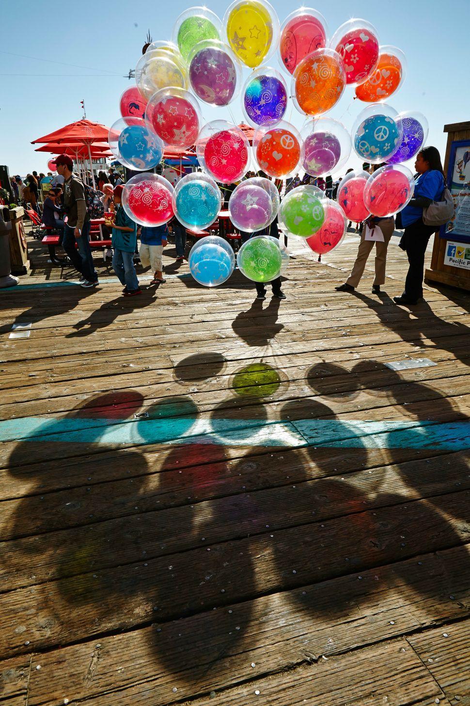 <em>Max's Balloons, Santa Monica, CA</em> © 2013 Joanne Dugan Photography