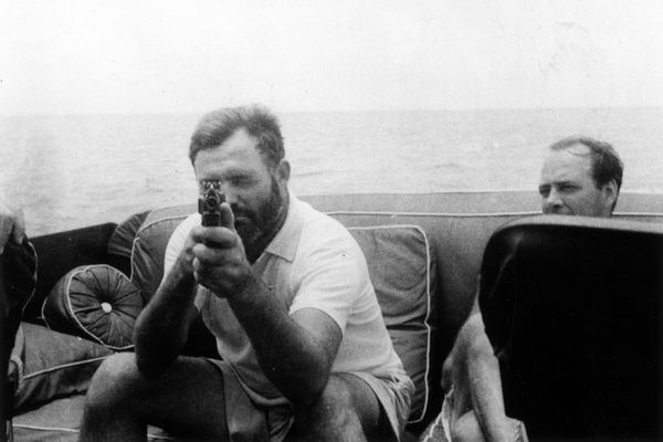 """In shooting you've got to be careful, not worried"" -- attributed in <em>The Good Life According to Ernest Hemingway</em>"