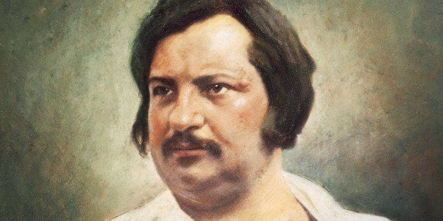 UNSPECIFIED - CIRCA 2002: Portrait of Honore de Balzac (Tours, 1799-Paris, 1850), French writer. Painting from a 1842 daguerr