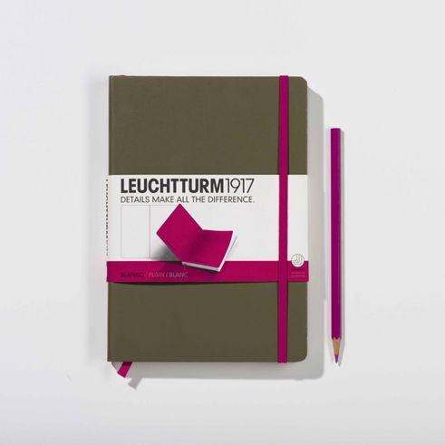 Notebook aficionados are likely to have some skin in the Moleskine versus Leuctturm1917 game -- both are sleek and simple, bu