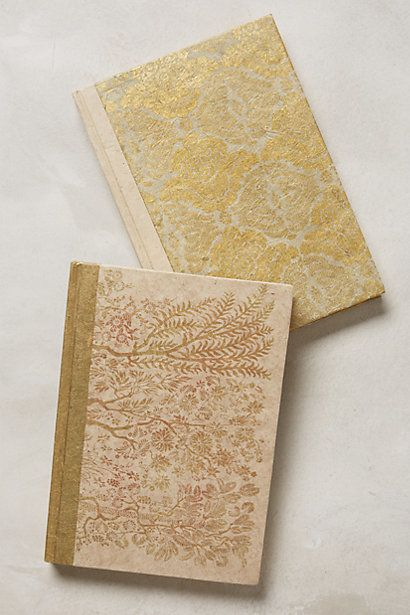 "Why yes, this journal is made out of metallic paper and gold foil. Use it for your most delicate thoughts.   <a href=""http://"