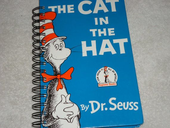 It's a Dr. Seuss book! No, it's a daily planner! Wait, it's actually both -- a repurposed book containing all the original pa
