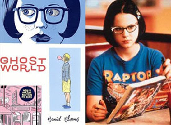 This 2001 film revels in the angst and ennui of a suburban teenage life. Author/illustrator Daniel Clowes created eerily memo