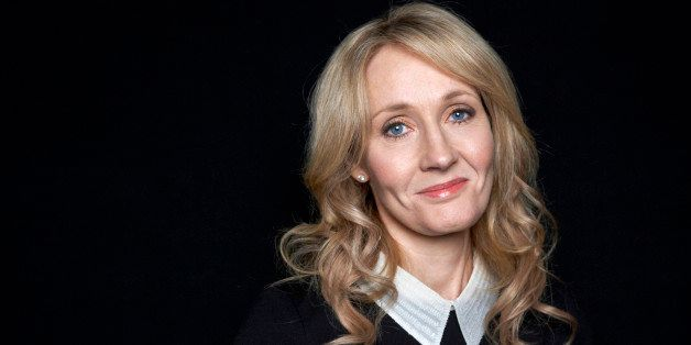 "This Oct. 16, 2012 photo shows author J.K. Rowling at an appearance to promote her latest book ""The Casual Vacancy,"" at The D"